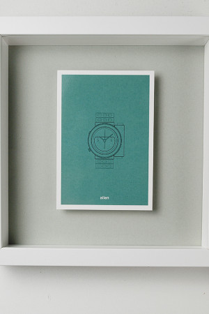 Aevig, Icon series filmposters. Postcards